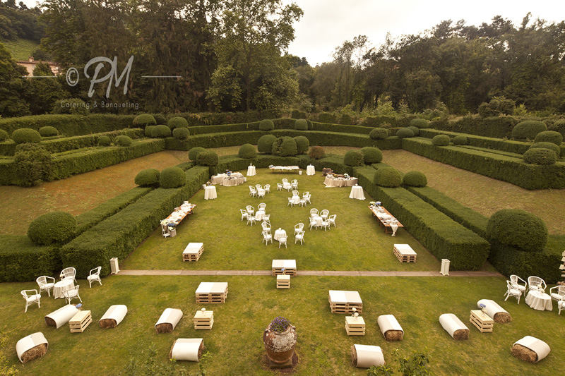 Progetto Matrimonio Catering e flower design