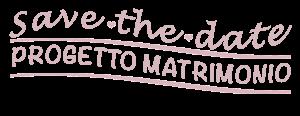 save the date progetto matrimonio