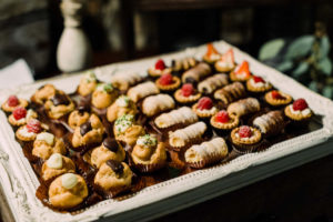 dolci per catering toscana