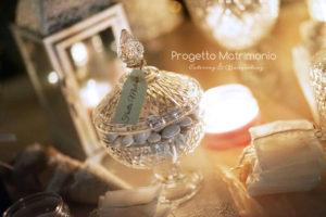 confetti per allestimento matrimonio