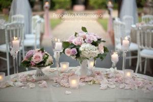 matrimonio stile romantico