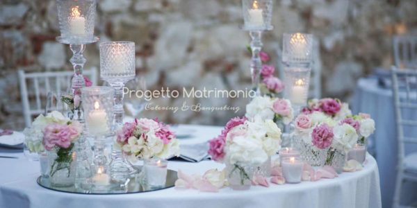 Tavolo-matrimonio-stile-romantico-Progetto-Matrimonio