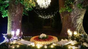 wedding cake alle fragole