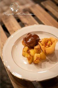 piatto con patate