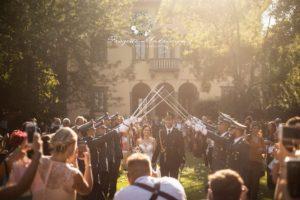 sposi verso l'altare