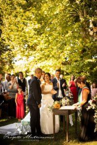 nozze in giardino