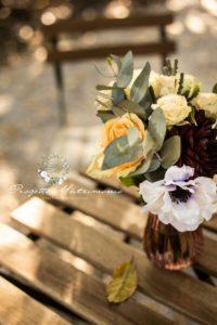 fiori dentro vaso