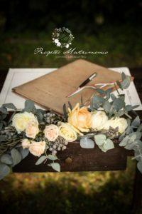 quaderno per sancire matrimonio