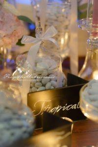 confetti in vaso