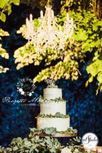 torta di nozze del catering